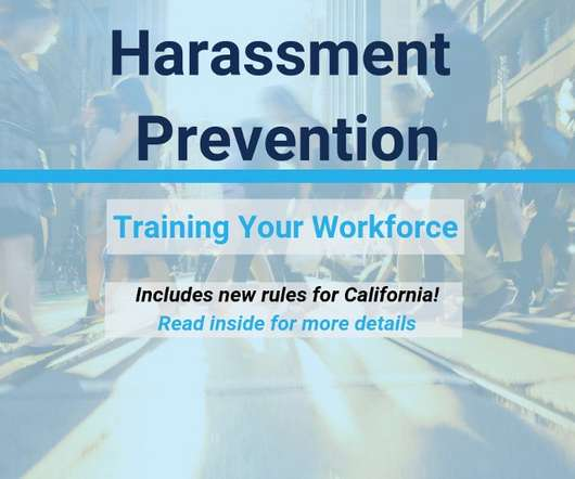 Sexual Harassment Training Elearning Learning