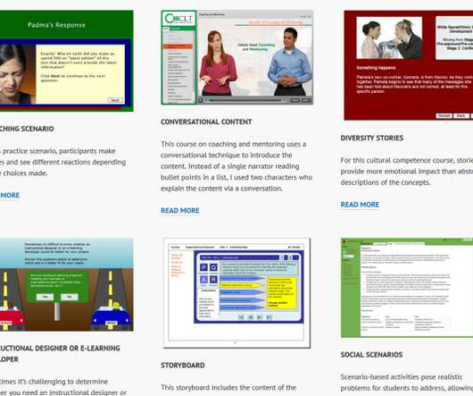 Examples - eLearning Learning