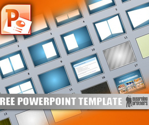 Instructional design powerpoint and templates elearning learning free powerpoint template elearning brothers toneelgroepblik Images
