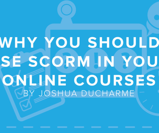 SCORM and Tutorial - eLearning Learning