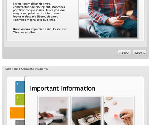 Powerpoint and templates elearning learning free powerpoint template tabs interaction toneelgroepblik Images