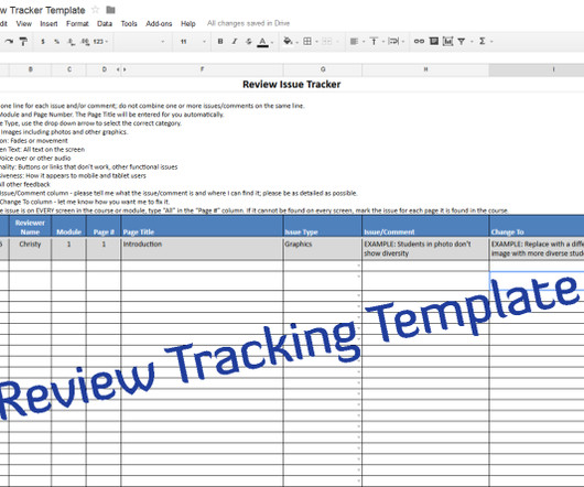 Google Docs and Templates - eLearning Learning