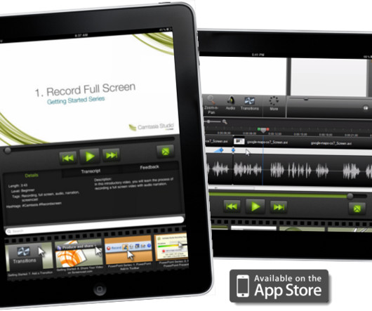 Camtasia and pdf elearning learning fasttrack for ipad learn camtasia studio 7 on the go ccuart Image collections