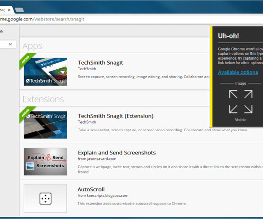 SnagIt and TechSmith - eLearning Learning