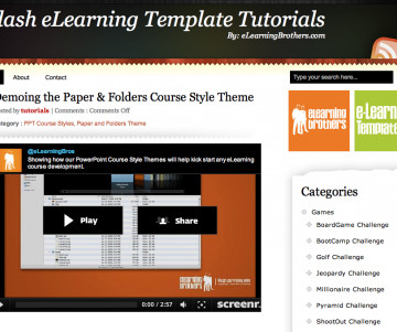 Templates and Website - eLearning Learning