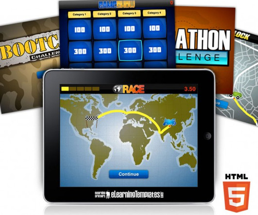 Html 5 Now Available In Our Template Library Elearning Brothers