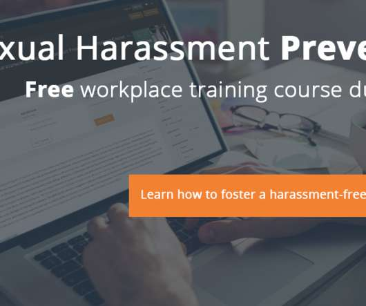 Sexual harassment training ideas